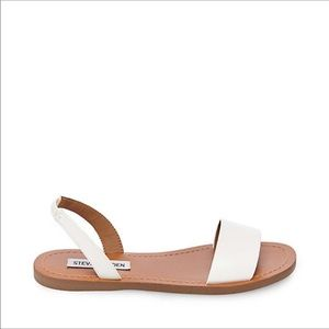 Steve Madden ALINA White Sandals